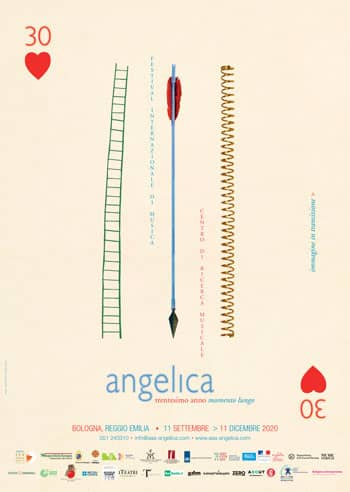 Poster - Festival AngelicA 30, 2020 - aaa art angelica