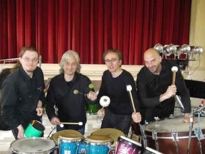 brake drum percussion Marco Dalpane
