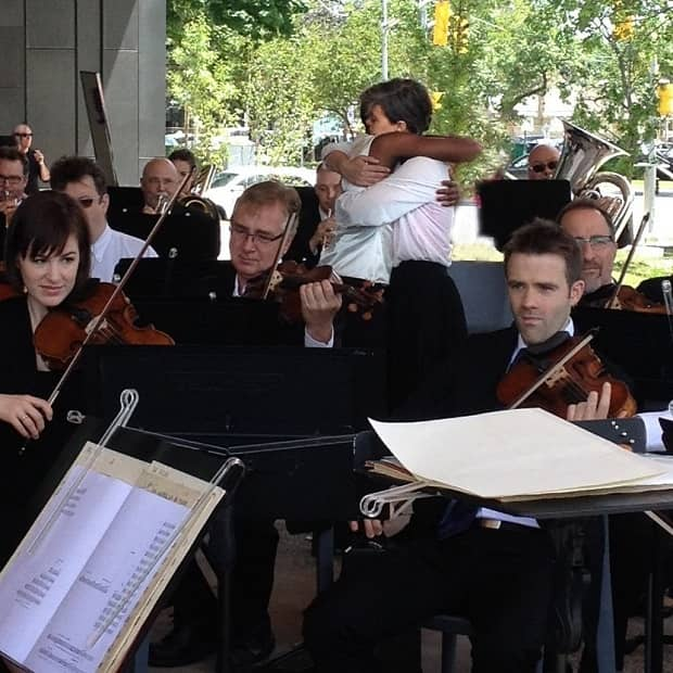 Toronto Symphony Orchestra performing Orchestral Tuning Arrangement