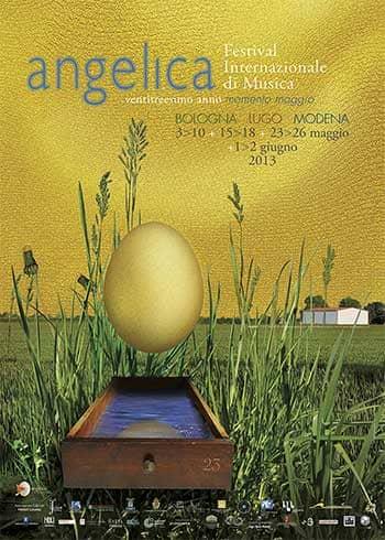 Poster - Festival AngelicA 23, 2013 - aaa art angelica