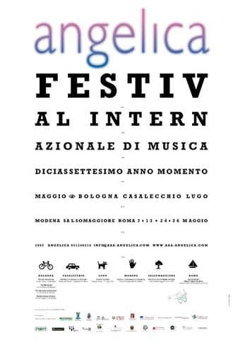 Poster - Festival AngelicA 17, 2007 - aaa art angelica