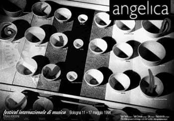 Poster - Festival AngelicA 8, 1998 - aaa art angelica