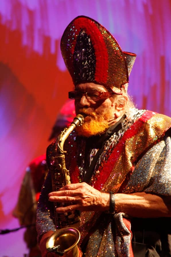 Marshall Allen (Photo by Clorinde Peters)