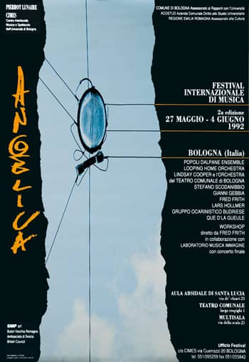 Poster - Festival AngelicA 2, 1992 - aaa art angelica