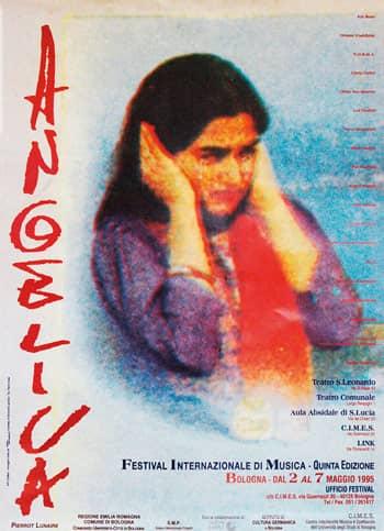 Poster - Festival AngelicA 5, 1995 - aaa art angelica