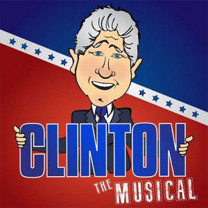 """""""It's hard enough being the President by yourself. Bill Clinton's problem is that there are two of him. A musical comedy about Bill Clinton and Bill Clinton on their quest to save their Presidency and change America."""" By: Paul and Michael Hodge"""