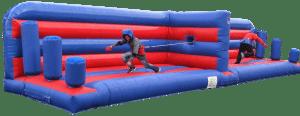Bungee Tug of War inflatable challenge game