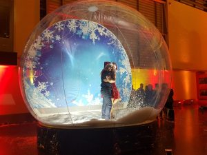 Giant Inflatable Snow Globe for Hire