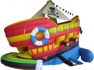 Rocking Pirate Ship Slide