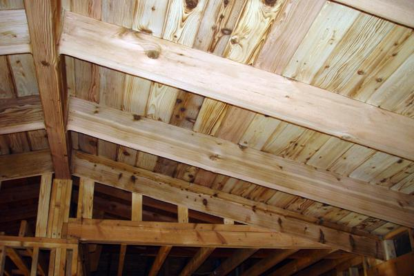 Burned Wood Beams