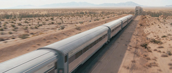 Movie Set Train Cars