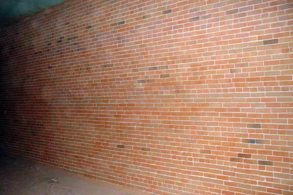 Plastered Brick Wall