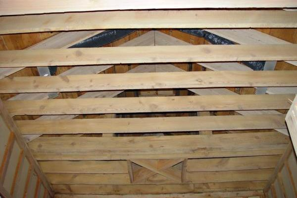 Old Wood Rafters