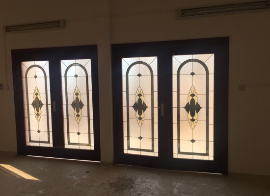 view from inside for entrance door in Jumeirah