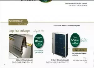 o general outdoor condensing unit dubai