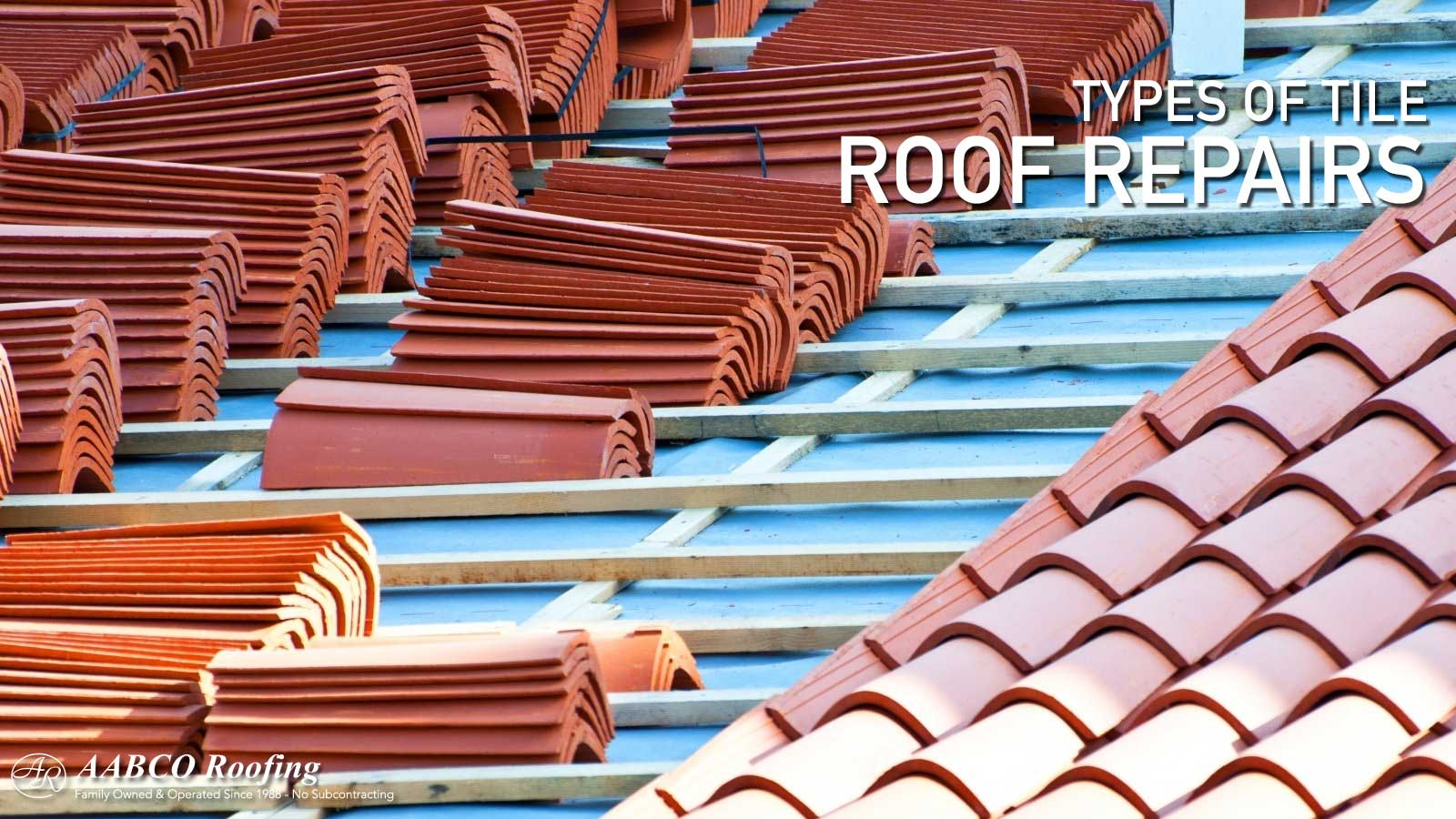 a tile roof repair guide for different