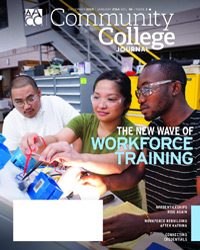 Image: Community College Journal cover