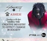 STONEBWOY TO LECTURE @ ASHESI UNIVERSITY ON FEB. 2