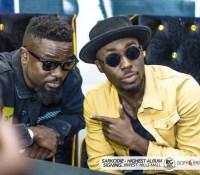TeePhlow thrills fans At Sarkodie 'Highest Album' signing