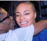 VIDEO: Shatta Deep-Kisses Michy To Launch His Car Prize