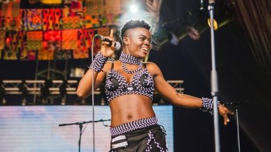 Photo of WATCH: Wiyaala & Patchbay Band Rock New World Festival In Israel