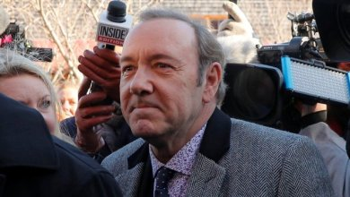 Photo of Kevin Spacey in court to face charges of groping teenager