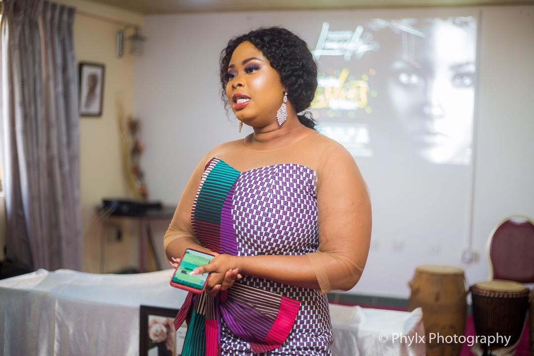 Actress Rabby Bray Launches Luxurious Eye Lashes for Ghanaian women