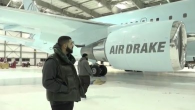 Photo of Drake Shows off His New Private Plane and Swears It's All His