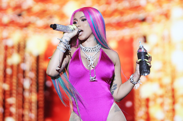 Cardi B lands in Ghana for Accra Sports Stadium concert