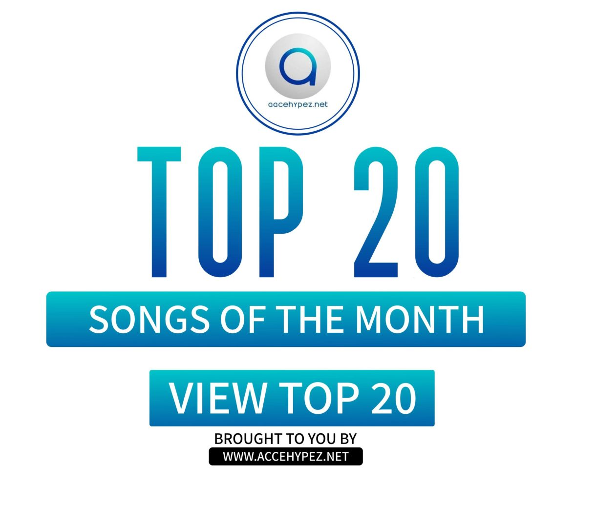 Top 20 Songs For The Month – April 2020 Edition