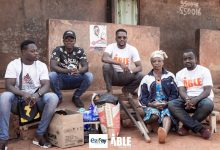 Photo of ABLE initiative donates to a hardworking widowed amputee, Madam Francisca