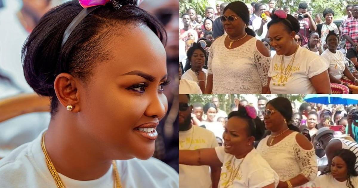 Nana Ama MacBrown Shows Off Her Beautiful Mother For The First Time
