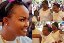 Photo of Photos: Nana Ama MacBrown Shows Off Her Beautiful Mother For The First Time