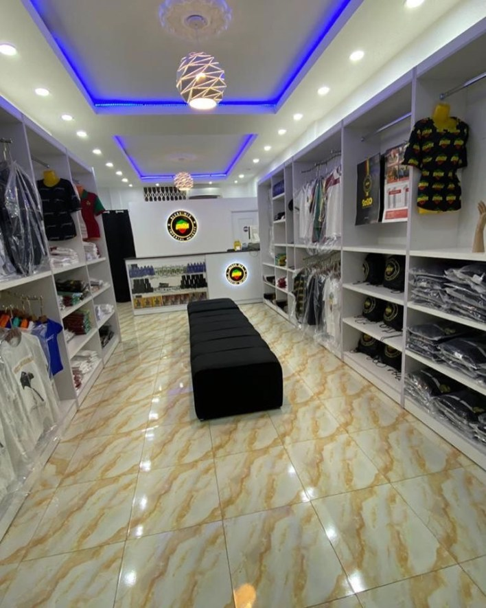 Stonebwoy Finally Opens The BHiM Shop Today!; See First Photos