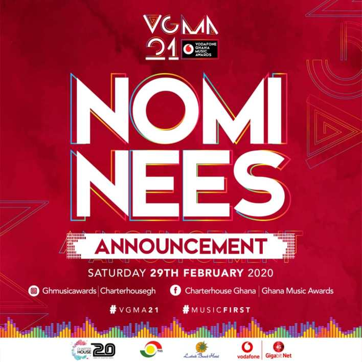 VGMA 2020 Nominees List (Live Update)