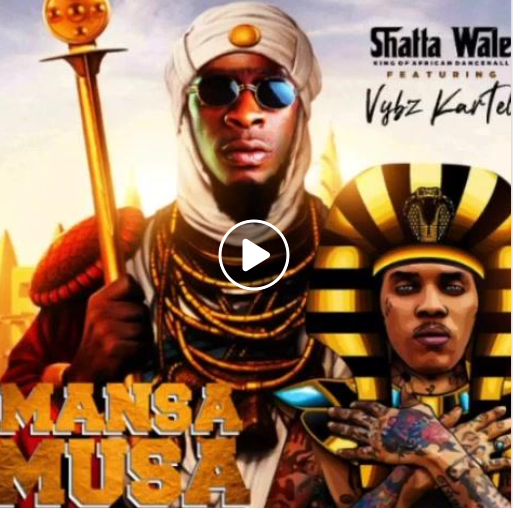 Shatta Wale Release Snippet Video For His Song Featuring World Boss, Vybz Kartel, Titled 'Mansa Musa Money' Watch!