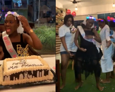 Photo & Video Showing Fella Makafui's Pregnancy Hits Online Moments To Her Wedding With Medikal