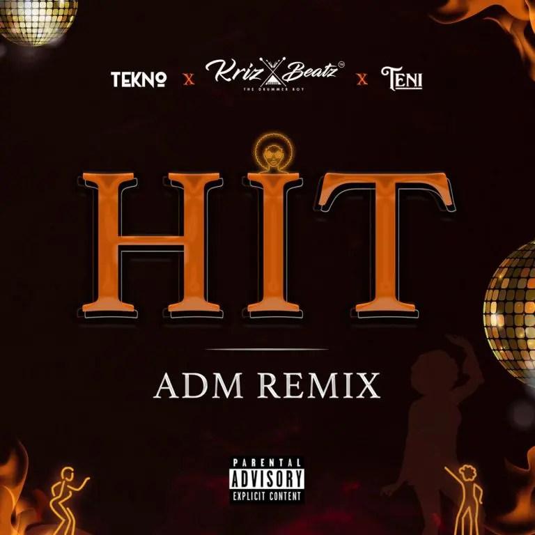 Krizbeatz – Hit (ADM Remix) Ft Tekno & Teni