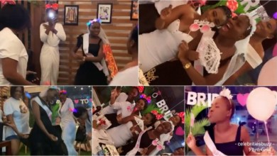 Photo of Bride To Be Fella Makafui's Bridal Shower Going Down And She's Turning Things Down With Her Girls Girls