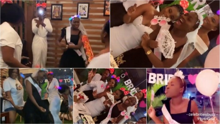 Bride To Be Fella Makafui's Bridal Shower Going Down And She's Turning Things Down With Her Girls Girls