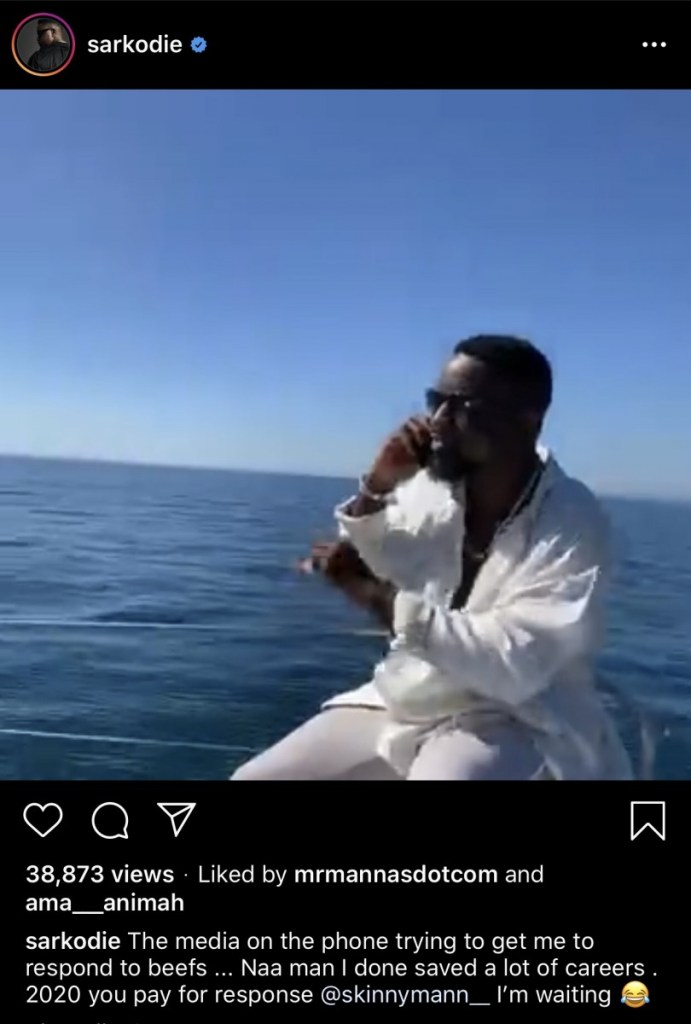 Sarkodie replies Shatta Wale's numerous diss with heavy punchlines