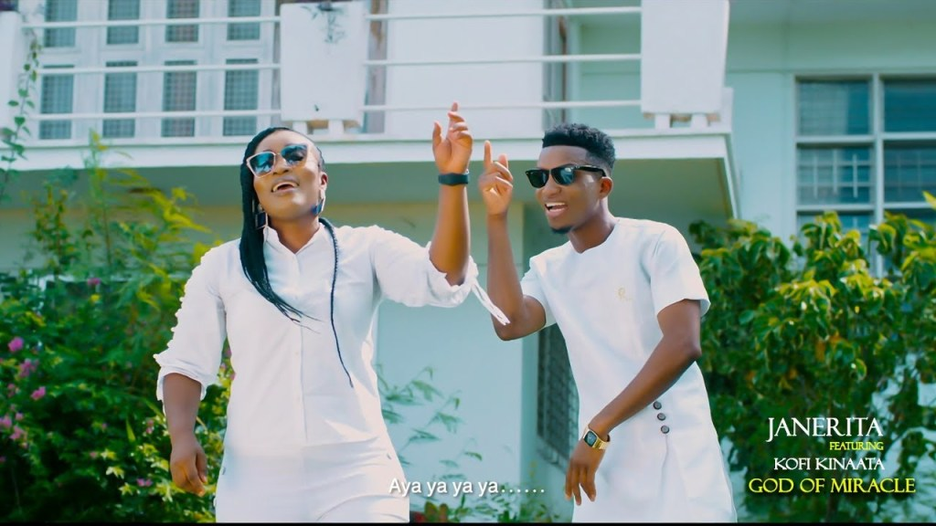 JaneRita - God of Miracle Ft Kofi Kinaata