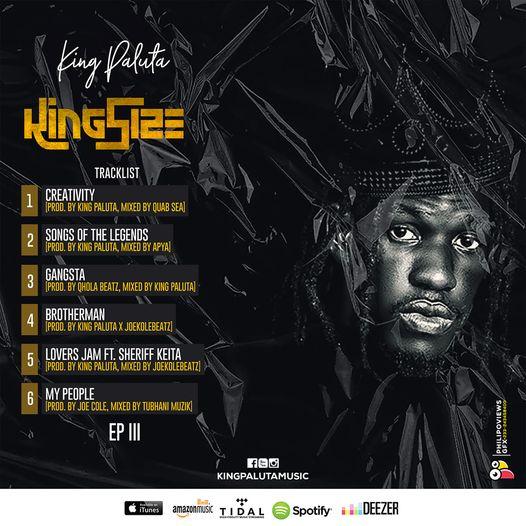 King Paluta - King Size 3 EP
