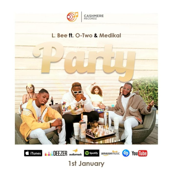 L.Bee – Party Ft Medikal & Otwo mp3 download