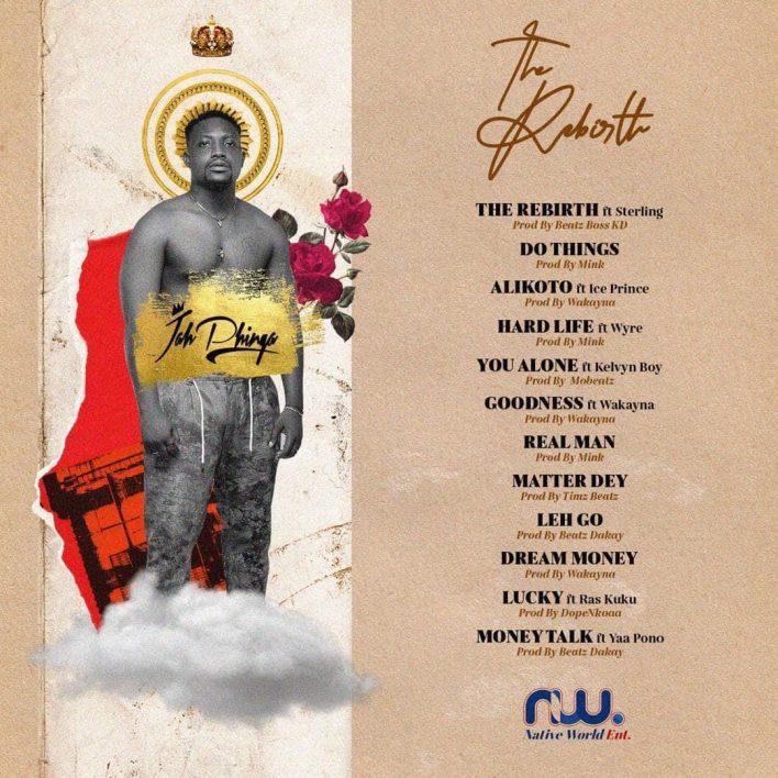 Jah Phinga – The Rebirth (Full Album)