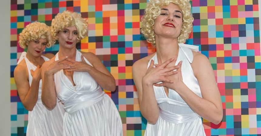 Marilyn im Ludwig Forum