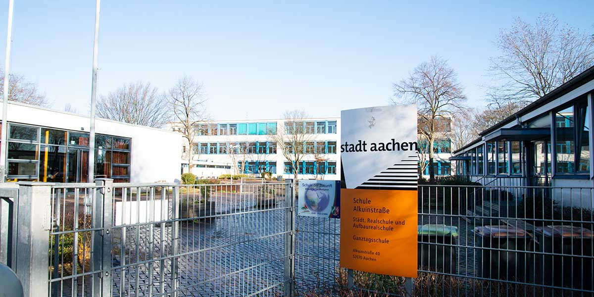 Alkuin Realschule geschlossen!
