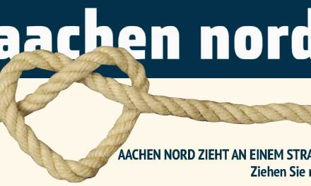 Aachen Nord zieht an einem Strang