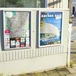 Plakate an jeder Ecke