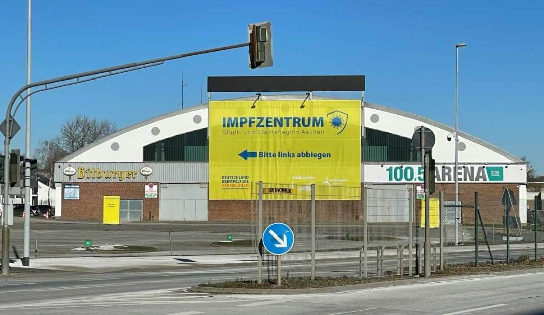 Impfzentrum Aachen